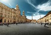 Piazza navona, rome. italie — Photo