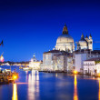 Grand Canal and Basilica Santa Maria della Salute, Venice, Italy — Stock Photo #14167650