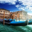 Royalty-Free Stock Photo: Gondolas in Venice, Italy.