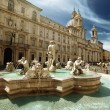 Piazza Navona, Rome. Italy - Stock Photo