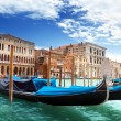Gondolas in Venice, Italy. — Stock Photo #14539253