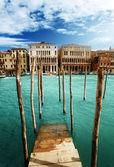 Grand canal, wenecja, iataly — Zdjęcie stockowe