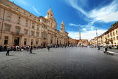 Piazza Navona, Rome. Italy. — Stock Photo