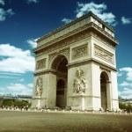 Arc de Triumph, Paris — Stock Photo