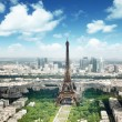 Eiffel tower in Paris, France — Stock Photo #16187817