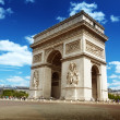 Arc de Triomph Paris, France — Stock Photo #16187837