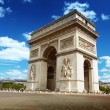 Arc de Triomph Paris, France — Stockfoto #16187837