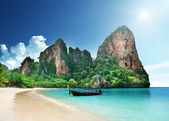 Spiaggia di railay, krabi thailandia — Foto Stock