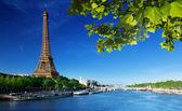 Eiffelova věž, paříž. francie — Stock fotografie