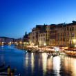 Grand Canal in sunset time, Venice, Italy — Stock Photo #18391781