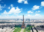 Eiffel tower in Paris, France — Stock Photo