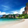 Stock Photo: railay beach in krabi thailand
