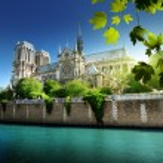 Notre dame paris, Frankrike — Stockfoto