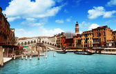 Rialto bridge in Venice, Italy — Foto de Stock