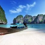 Maya bay leh isla de phi phi Tailandia — Foto de Stock   #22058303
