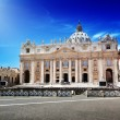 St. Peter's cathedral in Vatican — Stock Photo