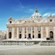 St. Peter's cathedral in Vatican — Stock Photo #23146100