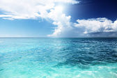 Caribbean sea and sunny day — Stock Photo