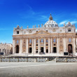 St. Peter's cathedral in Vatican — Stock Photo #23571419