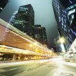 Traffic in Hong Kong at night — Stock Photo #23944001