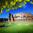 Colosseum in Rome, Italy - Foto Stock