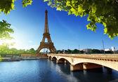 埃菲尔铁塔、 巴黎。法国 — 图库照片