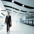 Business man walking in subway — Stock Photo #24846621