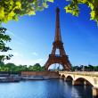 Stockfoto: Eiffel tower, Paris. France