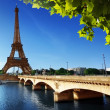 Eiffel tower, Paris. France — Stock Photo