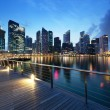 Singapore city in sunset time — Stock Photo #25110629