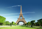 Eiffel tower, Paris. France. — Stock Photo