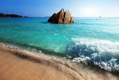Anse Lazio beach on Praslin island in Seychelles — Stock Photo