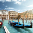 Gondolas in Venice, Italy — Stock Photo #26148767