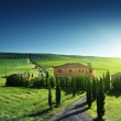 Tuscany landscape with typical farm house, Italty — Stock Photo #26148773