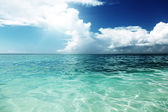 Caribbean sea, Dominican republic — Stock Photo