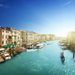 Venice canal view — Stock Photo