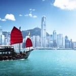 Hong kong Limanı — Stok fotoğraf