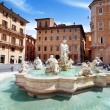 Piazza Navona, Rome. Italy — Stock Photo