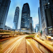 Stock Photo: Traffic in Hong Kong