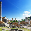 Roman forum in Rome, Italy — Photo