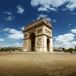 Stock Photo: Arc de Triumph, Paris