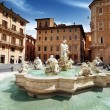 Piazza Navona, Rome. Italy — Stock Photo #32147979
