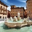 Piazza Navona, Rome. Italy — Stock Photo