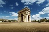 Arc de triumph, paris — Stok fotoğraf