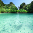 Tropical lagoon beach in Thailand — Foto de Stock