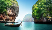 Fabled landscape of Thailand — Stock Photo