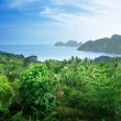 Stock Photo: View from view point of Phi-Phi island in Thailand