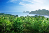 View from view point of Phi-Phi island in Thailand — Stock Photo