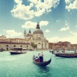 Grand Canal and BasilicSantMaridellSalute, Venice, Italy — Stock Photo #40437273