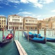 Gondolas in Venice, Italy. — Stock Photo #43131197